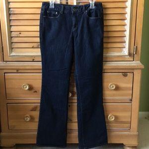 DKNY Soho Bootcut Jean, Dark Rinse, Size 10